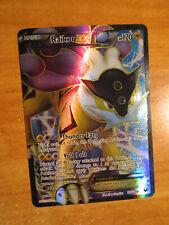 LP FULL ART Pokemon RAIKOU EX Card DARK EXPLORERS Set 105/108 Black and White AP