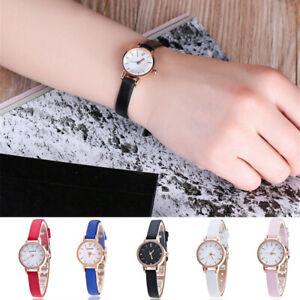 Fashion Womens Stainless Analog Quartz Wrist Watch Crystal Waterproof Watches US