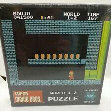 Super Mario Bros World 1-2 Puzzle