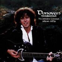 """DONOVAN """"TROUBADOUR: THE DEFINITIVE COLLECTION""""2 CD NEU"""