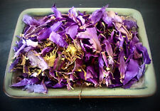 Blue Lotus Nymphaea Caerulea Medicinal Herbal Sleep Aid Stress Relief Tea 28g