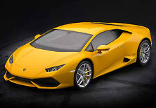 Pocher Lamborghini Huracan LP 610-4 Giallo Midas 1/8 Diecast Model Car Kit HK106