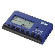 More details for korg ma2-blbk pocket digital metronome, blue & black