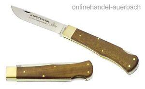 HUBERTUS Notschlachter Karbonstahl Geschmiedet Taschenmesser Klappmesser Messer