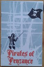 The Pirates of Penzance programme Jersey Opera House Theatre 1971 John Cartier
