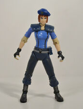 "RARE 1998 Jill Valentine 4.75"" Toy Biz Action Figure Capcom Resident Evil 2"