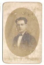 photo carte postale  jeune homme (1016d)