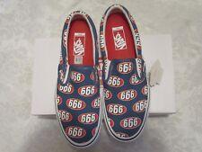 Vans Supreme Navy Blue 666 Slip-On Pro VN0A347VOX5 4000434307 Size 10 Sneakers