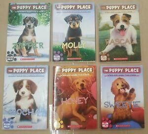 Lot of 6 The Puppy Place Chapter Books By Ellen Miles Paperback