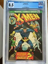 CGC 8.5 X-Men #87 *White*1974*New Case*