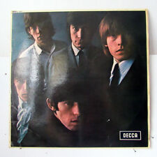 THE ROLLING STONES-SELF-TITLED NO 2 ON DECCA ROCK LP-STRONG VG+, UK PRESS, MONO,