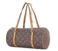Authentic LOUIS VUITTON Papillon 30 Monogram Hand Bag Purse #27135