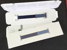 Genuine Apple Watch Strap woven sport loop ALASKAN BLUE 2 Tone 40mm / 38mm