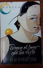 Porque el Beso que me diste No Lo Olvidare Jamas de Stella Soto Puerto Rico 1997