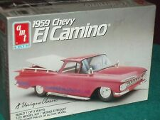 AMT 1959 CHEVY EL CAMINO PLASTIC MODEL KIT SEALED IN BOX 1/25 3 WAYS TO BUILD