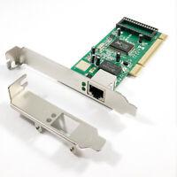 X-MEDIA XM-NA3500 Gigabit 10/100/1000Mbps PCI Network Card, Low Profile Bracket
