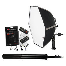 Fotodiox 20in Speedlite Softbox Kit for Canon (3C) with Light Stand and Triggers