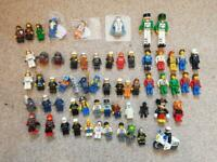 60 GENUINE LEGO Minifigures Bundle Jack Stone Emmet Atlantis majisto ghost glow