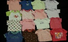 Baby Girl Size 6-9 Months Clothing Lot *bodysuits*
