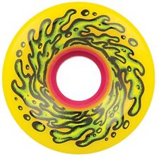 "SANTA CRUZ ""Slime Balls - OG Slime"" Skateboard Wheels 60mm 78a YELLOW Soft"