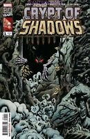 CRYPT OF SHADOWS #1 MARVEL COMIC 1ST Print unread 2019 NM AL EWING HORROR TERROR