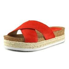 Calzado de mujer Nine West color principal rojo de ante