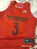 Parker 2018 McDonalds All American Authentic Adidas Game Jersey Size M+0