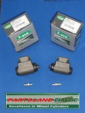 Par FRENO TRASERO CILINDROS Austin MG Rover Maestro TODOS LOS MODELOS 1984-1994