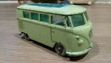 LESNEY MATCHBOX # 34 VOLKSWAGEN VW Splitscreen Camper Van CARAVETTE 1960s Splity