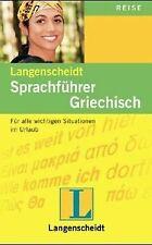 Langenscheidts Sprachführer, Griechisch | Buch | Zustand gut
