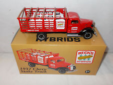 Beck's Hybrids Seed Corn  1937 Chevy Stake Truck By First Gear