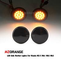 LED Side Marker Lights For Mazda MX-5 Mk1 Mk2 Mk3 Turn Signal Side Repeater Lamp