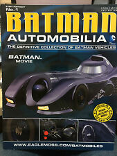 Batman Automobilia Magazine Eaglemoss   Magazine only 1-78 to choose from