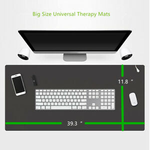 """Large Grounding Therapy Mats Improves Sleep, Reduces EMF Inflammation 39.3x11.8"""""""