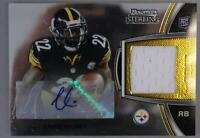 2012 Bowman Sterling Chris Rainey Steelers Auto Patch RC EX