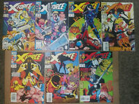 X-Force #20,22,23,24,26,27 and #30- Domino-Deadpool-Cable-2nd Appearance-
