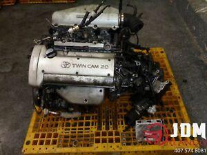 91-95 TOYOTA COROLLA 1.6L ENGINE TRANSMISSION & ECU JDM 4A-GE