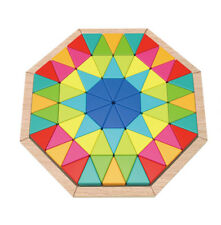 NEW Tooky Toy Wooden Octagon Puzzle 73pc