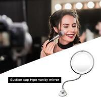 Desktop Mirror Makeup Mirror Adjustable Suction Cup Magnifying Mirror