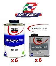 12 PZ LECHLER TRASPARENTE MACROFAN MC421 + CATALIZZATORE MACROFAN MH120 SPOT