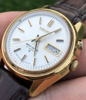 Seiko BELL-MATIC 27J Automatic 4006-7010 Day Date Watch (1967)