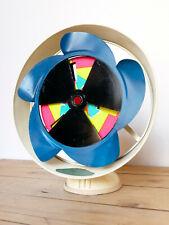 Ventilatore Marelli Antique electric Fan ARCE Advertising Martini Aperitivo 60s