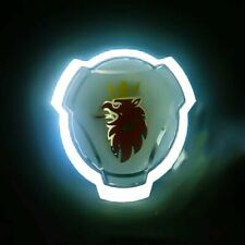 Scania Griffin Front Grill Emblem badge White LED Headlight Lighting Lamp
