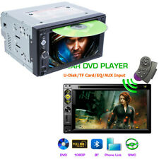 6.2 inch Car Video Player 2 Din DVD/CD/Radio/Mirror Link/USB/TF/Bluetooth/ SWC