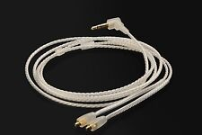 OFC Silver Upgrade Audio Cable For Onkyo IE-C1/C2/C3 IN-EAR MONITOR headphones