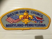 Mason Dixon Council CSP TA-6 60th Anniversary TOUGH issue!