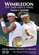 WIMBLEDON 2008 MENS FINAL (2 DVD SET) NADAL V FEDERER  (region 0 = All Regions)