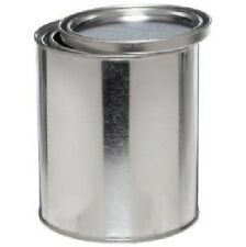 Empty Gallon Can Round Steel Can with Lid for Paint Materials