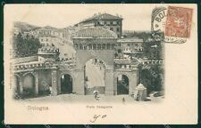 Bologna Città Porta Saragozza cartolina XB0160