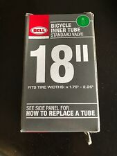 """Bell Sports 7015356 Bicycle Inner Tube  18-In., Fits 1.75 - 2.125"""""""